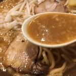 岩本屋 - 濃厚味噌のスープ☆