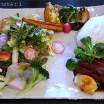 ミクマリ - この日のプレートは豚肉の赤ワイン煮