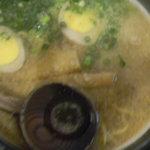 6217881 - らーめん 550円 + 煮たまご 50円