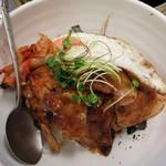 ユン - ・「岩中豚の豚丼(\700)」