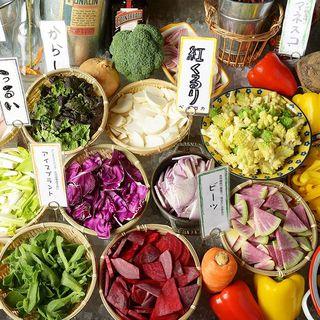 【契約農家】新鮮野菜!野菜で身も心もキレイに♪