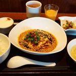 """中華香彩JASMINE - JASMINE名物""""よだれ鶏""""ランチ1,100円"""