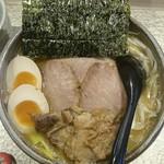 麺屋 音 別邸 - 特製生姜鶏白湯
