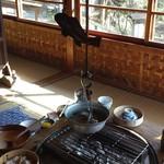 鎌田鳥山 - 魚の形をした自在鉤が凄い