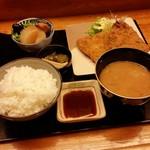 居酒屋たけ  - 料理写真:「アジフライ (650円)」