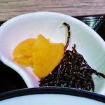 越前まるごと食彩 - 山椒風味の沢庵も美味い!