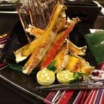 ぬのはん - 料理写真:たらば蟹の黄金焼