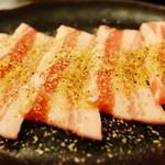 焼肉 いのうえ - 黒豚バラ肉