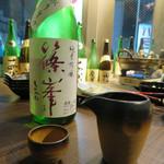 62178054 - 篠峯(しのみね)純米吟醸生原酒 中取り生酒 奈良