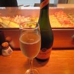 かじしか - スパークリングワイン(バルディビエソブリュット) ボトル 3000円