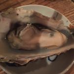 のんびり酒場ニコル - 蒸し牡蠣