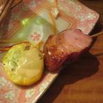 かじしか - 夏野菜とベーコン 250円