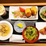旬彩ごはん あさひや - 本日の日替わり定食 950円