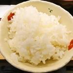 旬彩ごはん あさひや - ご飯(甘くて食べやすいです)