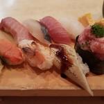 築地ビッグ寿司 - 【2017/2】おまかせ握り8貫(2000円)
