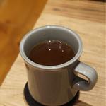 アンモナイト - イルガチェフェをスチームパンクで コーヒー豆の成分をしっかり味わえた気がします。