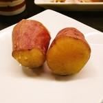 旬彩ごはん あさひや - 薩摩芋の甘辛煮