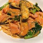 レストラン コンテッラ - トマトクリームパスタ