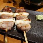 博多串焼き 八乃助 - 鴨葱