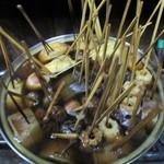 善ちゃん - 良くお味の滲みた おでん がいっぱい煮こまれています。