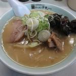 ラーメン寳龍 - 味噌ラーメン 黒帯 801円 (2017.1)