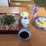 いしづか - 料理写真:天ざるさば