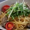 Via Lucca イタリアン&クラフトビール - 料理写真:牡蠣とドライトマトのペペロンチーノ