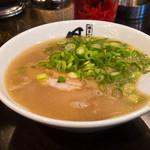 長浜ラーメン 風び - 定食のラーメン