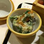 きん田 - (2015年2月)干し柿の白和え