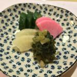 きん田 - (2015年2月)香の物