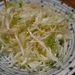 とん亭 - サラダ