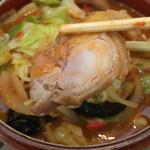 62188659 - 《トマト麺》820円                       鶏チャーシュー                       2017/1/28