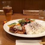 カフェクッカ - 淡路鶏テリヤキワンプレートランチ(2017.2.5)