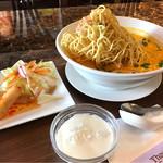 タイレストラン タニサラ - カオソーイセット 税込1,200円
