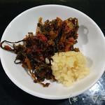 62191952 - 辛子高菜とニンニクは食べ放題!!