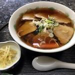 松竹 - チャーシュー麺 760円