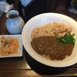 博多あかちょこべ - キーマカレーうどん 中盛