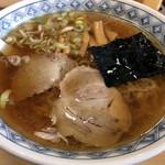 お食事 松月 - 中華そば600円