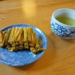 たきざわ - サービスの野沢菜