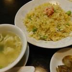 稲吉屋 - タラバ蟹炒飯 900円