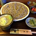 蕎香 - もり蕎麦 750円