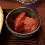 蕎香 - 小鉢のトマト