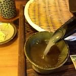 蕎香 - そば湯はとろ~り