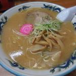 駅前札幌ラーメン - みそラーメン 650円(税別) (2017.1)