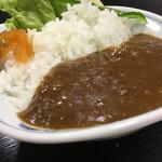 紀楽 - 佐賀牛ミニカレー