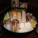 酒呑童子 - 料理写真:きりたんぽ