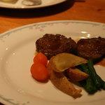 リストランテ グラッツェ - 牛ヒレ肉のステーキ
