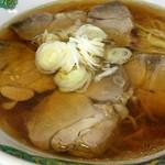 菜華 - 叉焼麺 810円