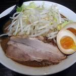 ちょもらん麺 - 【味噌ちょもらん麺 煮玉子】¥940