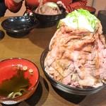 ニクゼン - ローストビーフ丼の特盛